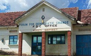 The FDC office in Soroti District, Eastern Uganda.