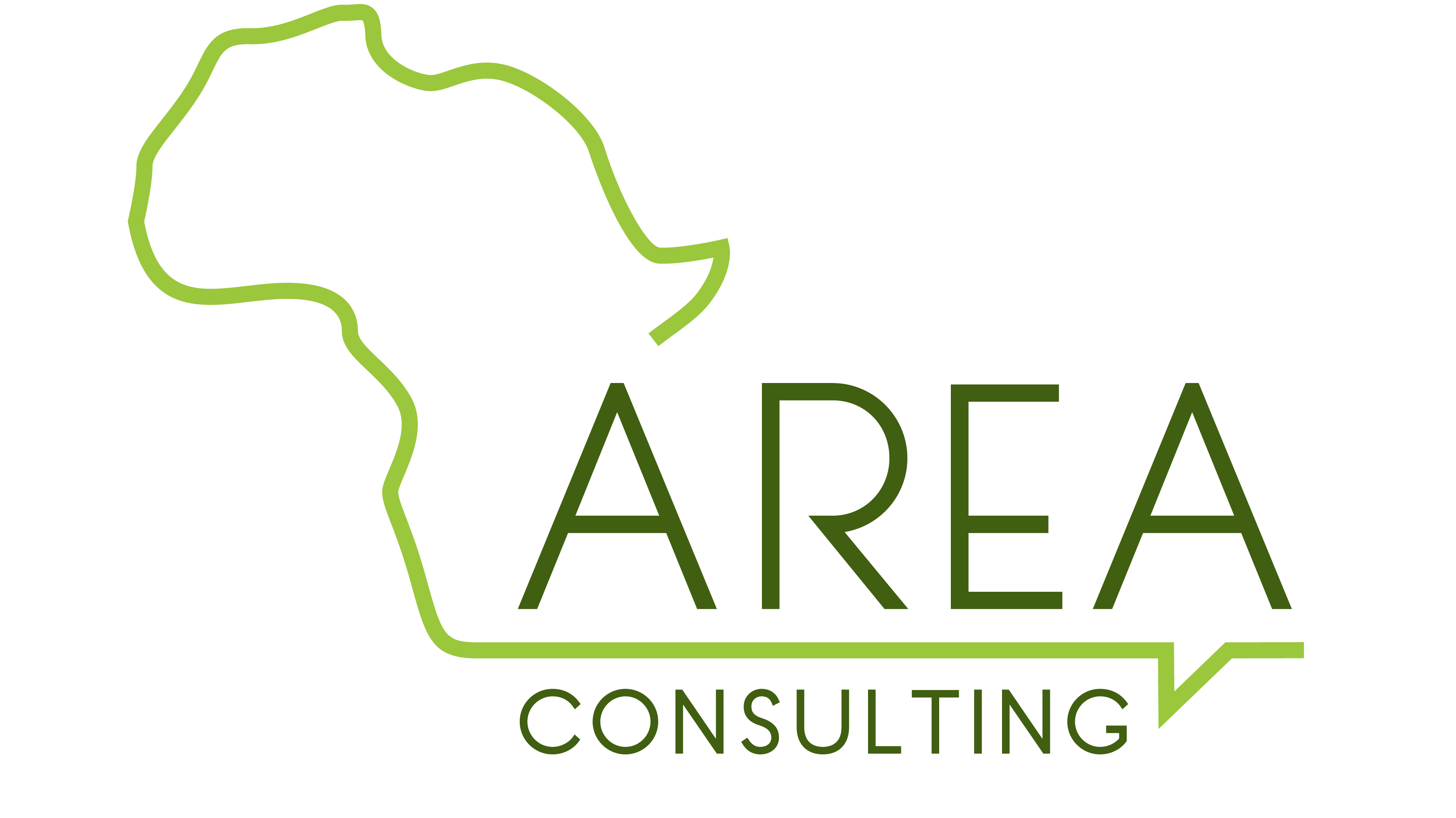 Logo of AREA Consulting.